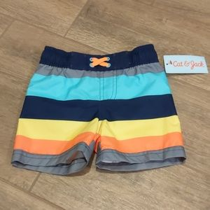 Baby boy Swim Shorts NWT